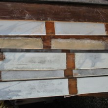 Vintage painted timber cladding always in stock