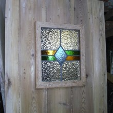 Doors customised with glass, leaded glass or porthole panels