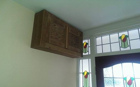 Custom cupboard consumer unit cover