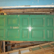 Large panelled door 39