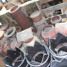Assorted chimney pots always in stock