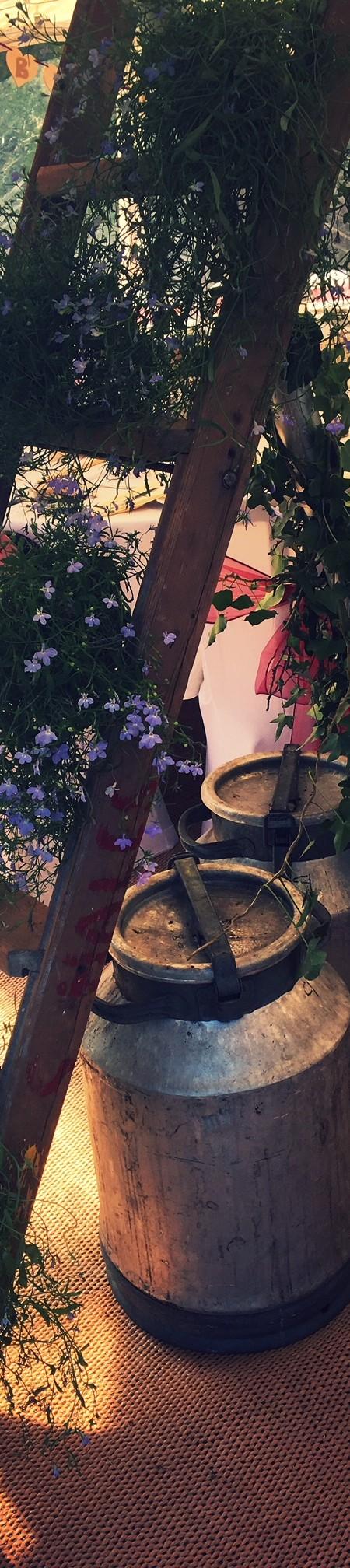 Ladder flower feature