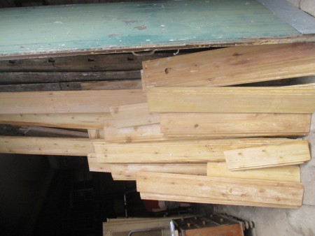 9inch wide Victorian decorative skirting board 103' linear feet available