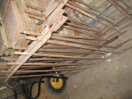 Wrought Iron railings 4feet high