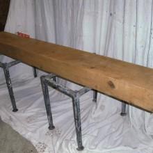 Finished Oak beams