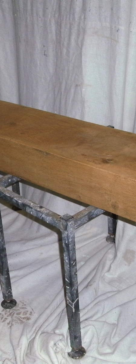 Oak beams - finished , polished and waxed if required.