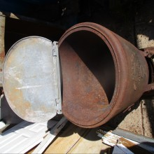 The Capital Tar Boiler planter cooler
