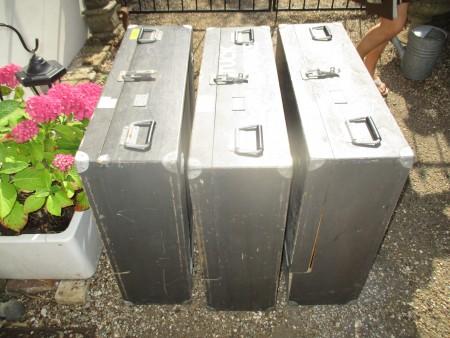 British Army Storage Boxes x 3