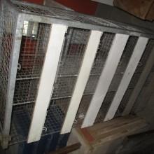 Industrial metal cage pigeonholes