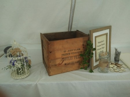 Rustic Wine Crate
