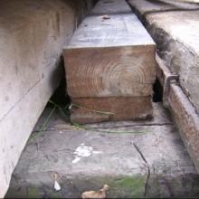 Pitch pine beams 8