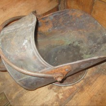 Griffiths & Browett Copper Coal Scuttle