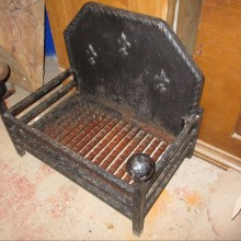 Small Fire Basket with F-d-L pattern 19