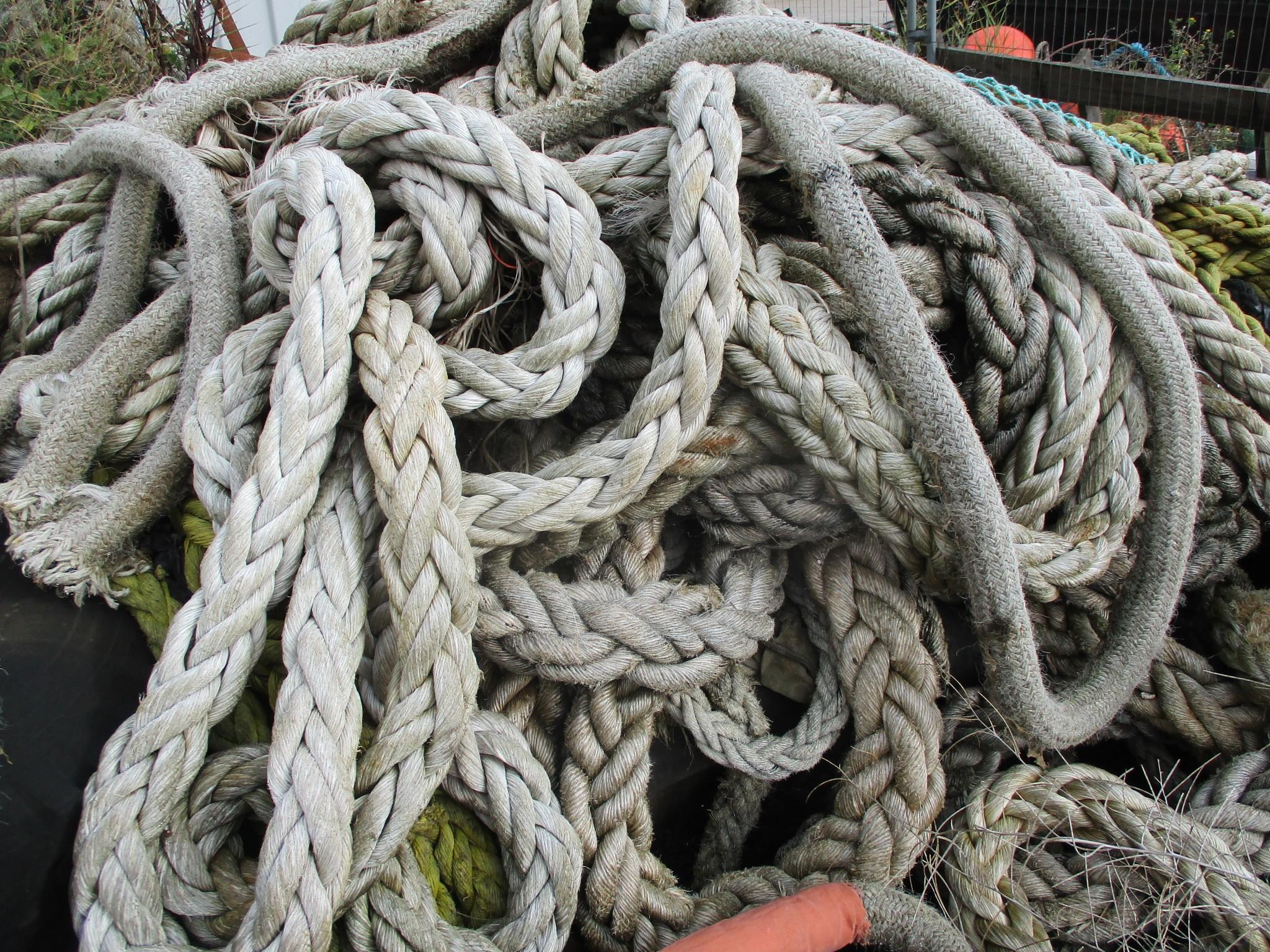 Ship hawser or rope