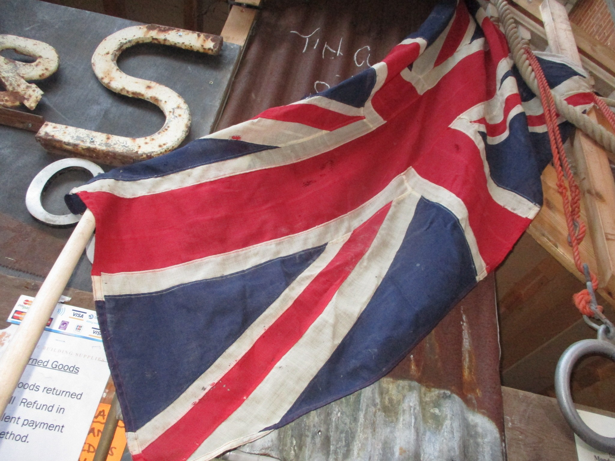 Vintage flags always in stock