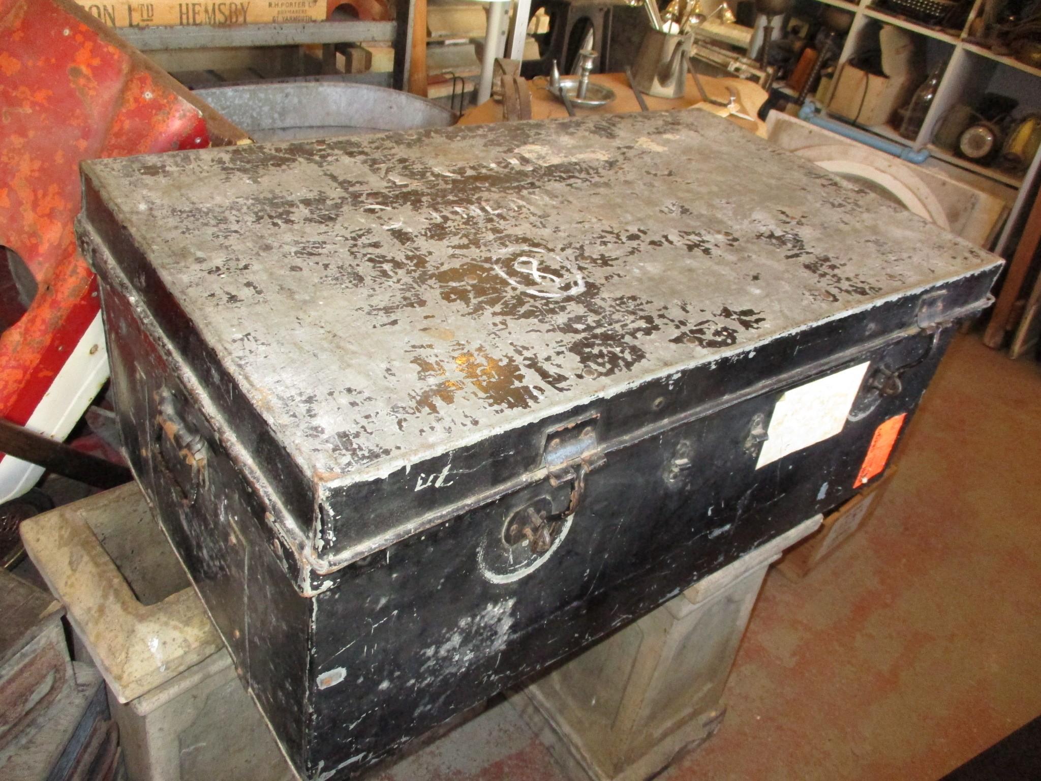 Metal storage trunks always in stock