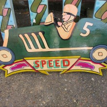 Fairground Ride signage