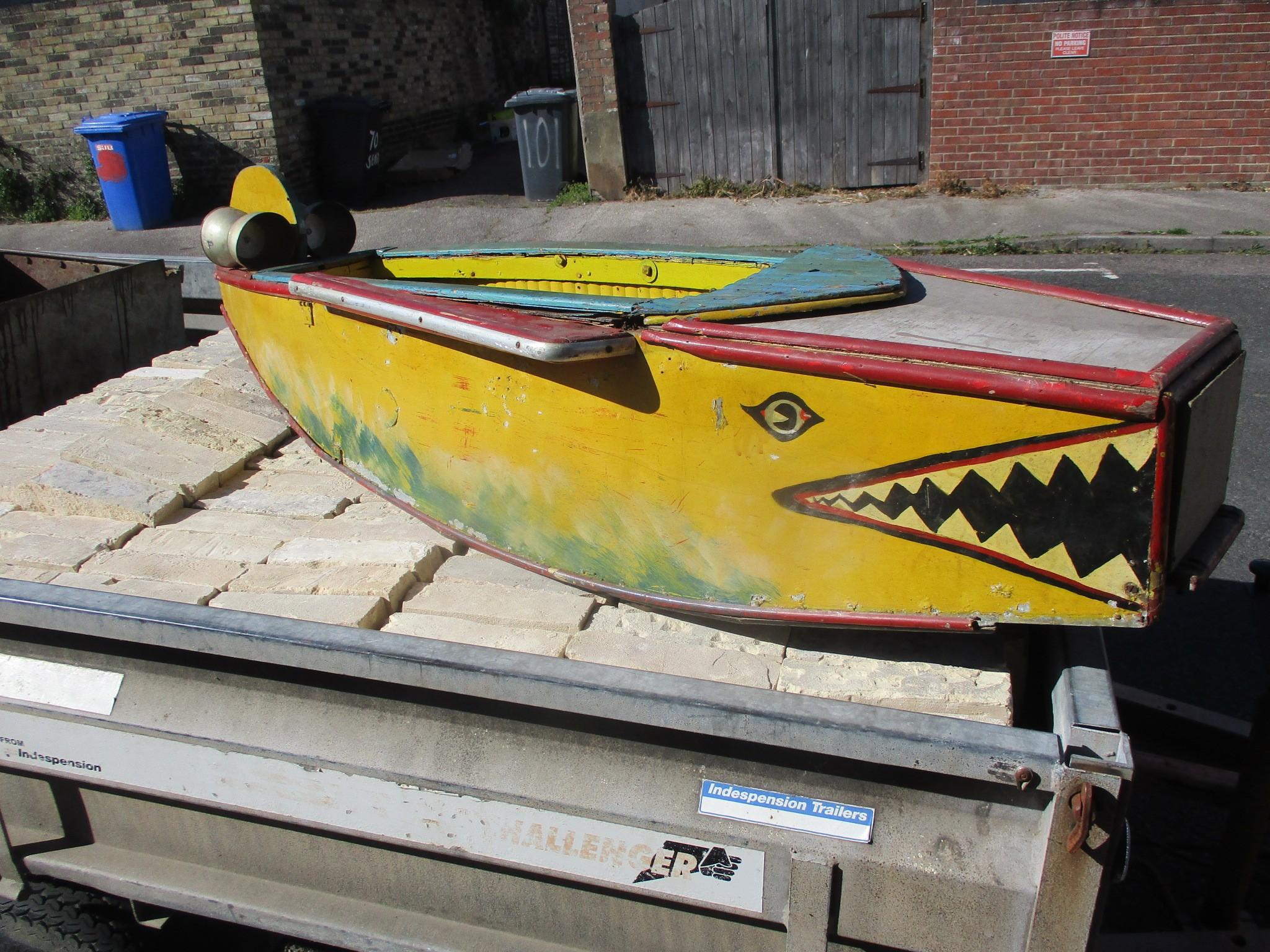 Fairground Bomber Plane 'Shark faced' Boats