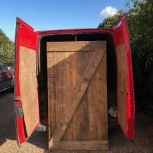 Large Plank door - bespoke manufactured 48