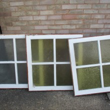 Period pitch pine WINDOW casements for Summer Houses or Man Caves.