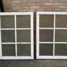 Period pitch pine WINDOW casements for Summer Houses or Man Caves  ( 2)