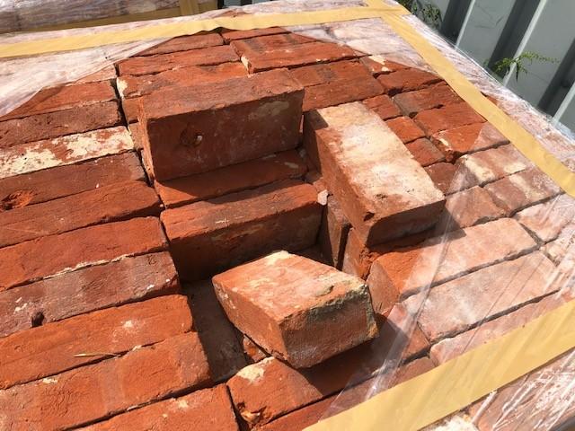 Imperial red bricks 2 1/2