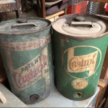 Large Oil Cans
