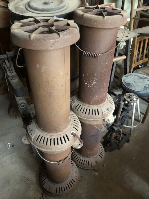 Workshop heaters - for renovation