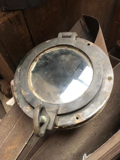 portholes - set 4 Brass vintage.