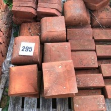 Bullnose RED brick Copings - assorted sizes in stock