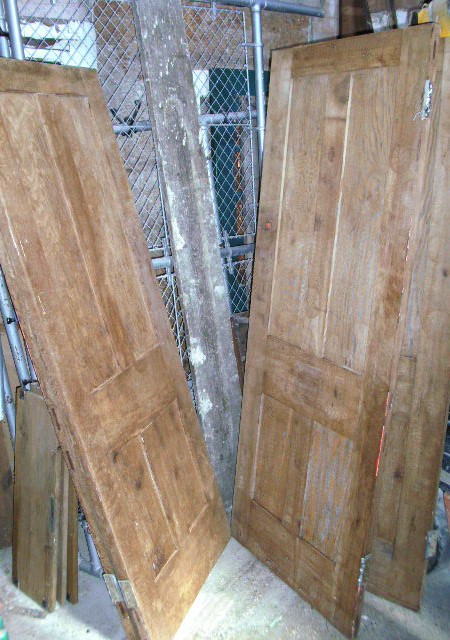 Arts and Crafts 4-panel doors