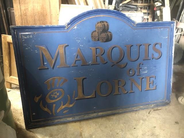 Marquis of Lorne - Lowestoft pub sign 1 of 2