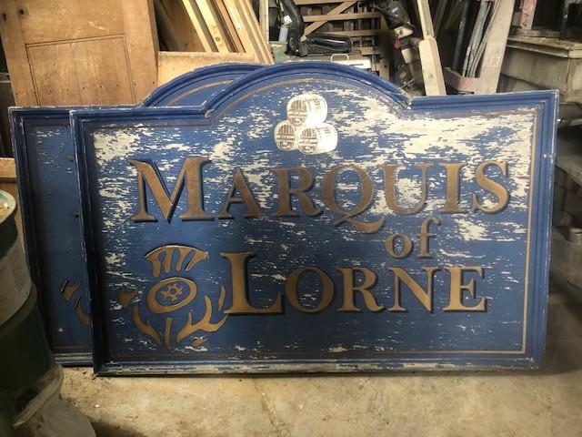 Marquis of Lorne - Lowestoft pub sign 2 of 2