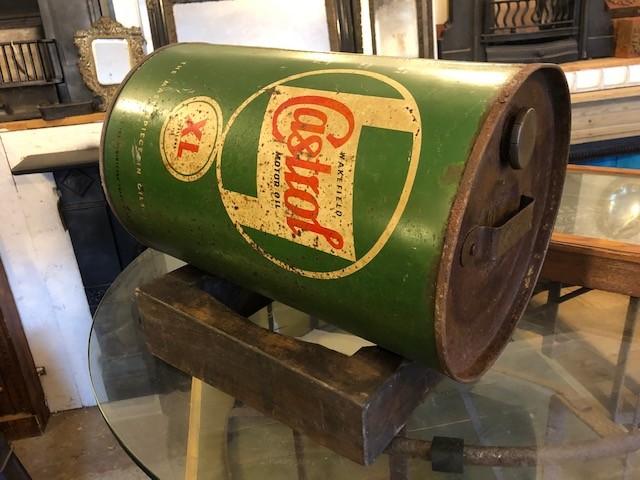 Castrol drum vintage