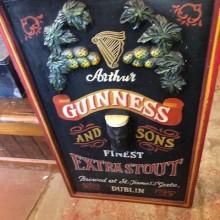 Guinness  - modern painted board.
