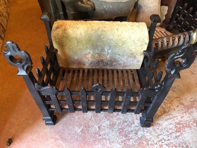 Fire basket - decorative wrought iron