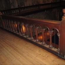 Balcony Balustrading Victorian 12ft x 3ft tall