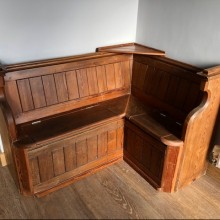 PEWS - bespoke made to order from original Church types.