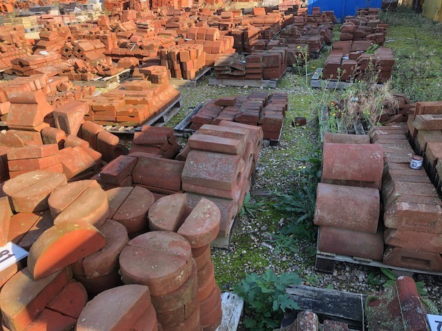Coping bricks - multiple types in stock