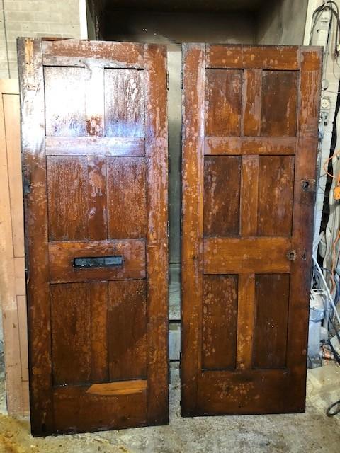 Oak double doors - external 30