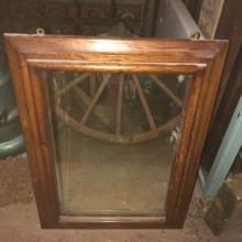 Mirror - vintage wooden framed