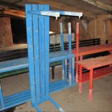 Benches - metal school external type
