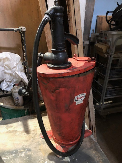 BAELZ oil gun/pump