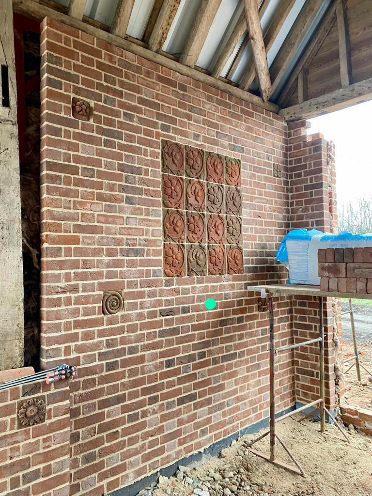 Suffolk Red decorative bricks