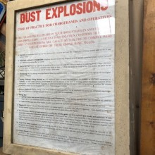 Dust Explosion workshop warning notices - 3 available