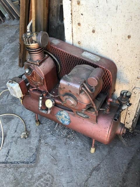 Sherry Vintage workshop compressor