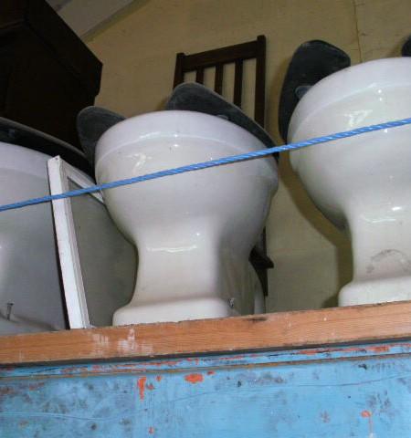 Childrens Vintage S-trap Toilets