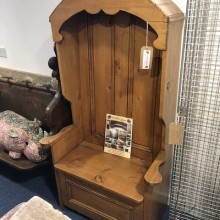 Porters Chair or Settle - single decorative