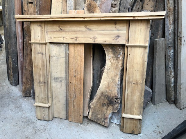 Fire surround - contemporary styled