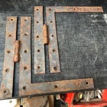 Blacksmith Hinges - pair 7